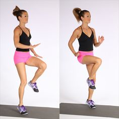 20-Minute Cardio Workout [ SkinnyFoxDetox.com ] #fitness #skinny #health
