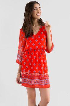 Brianne Printed Dress