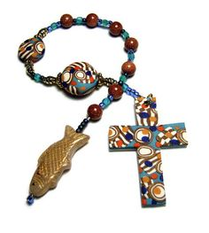 Protestant Prayer Beads Chaplet by SweetchildJewelry
