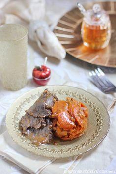 Tzimmes Roast - the perfect one-pot Rosh Hashanah (Jewish New Year) dish!