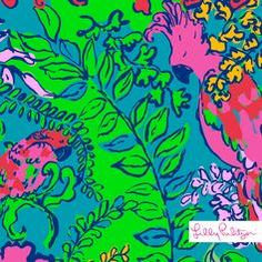 Lilly Pulitzer Shake Your Tail Feather Print