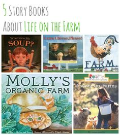 5 Story Books About Life on the Farm