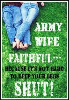 His ex wife couldn't do it! But I can :) #betterwife #armywife
