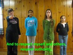Song to teach girl scout law with hand motions....must do this......also have directions (might be a little different) on http://www.scoutingweb.com/scoutingweb/SubPages/GSLawHandMotions.htm