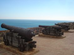 #cannons at #Castle in #CostdelSol #Spain #andreacatsicas
