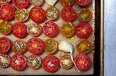 slow-roasted tomatoes   smitten kitchen