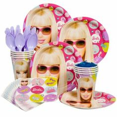 Barbie Party Standard Kit Serves 8 Guests - http://1stbirthdaypartytheme.com/barbie-party-standard-kit-serves-8-guests.html