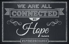 For Rachel, sponsorship means… www.compassion.com/sponsorchange #SponsorChange