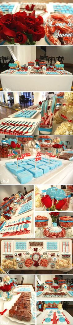 Mesa de dulces on pinterest mesas bodas and dessert tables - Mesas para buffet ...