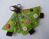 christmas crafts buttons ornament - & I certainly have plenty of buttons!