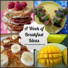 A Week Of Breakfast Ideas