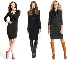 First Date Outfit: The Perfect Winter Date Dress #nyc