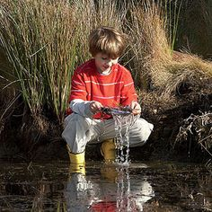 Be a Spring Explorer: 5 Nature Activities for Kids: Underwater Explorer (via FamilyFun Magazine)