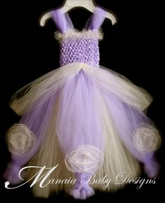 Sofia The First Inspired Tutu Dress .... I think I can make this for Ava!!