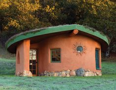 "Cob House - Art, yoga, ""mom's house"" - fun design for an apothecary, maybe?"