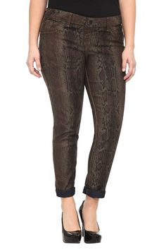Source Of Wisdom - Reptile And Basic Reversible Skinny Jeans