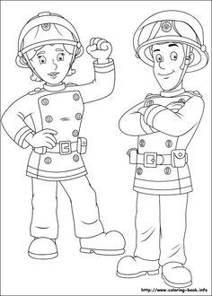 Fireman Sam coloring picture #fireman #sam #episodes