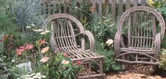 Love the look of these chairs but not overly comfortable for taking long garden naps. :-)