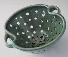 pottery colander