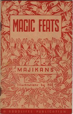 Magic Feats by Majikans - A Miscellany of Practical Magic,  1948 | books.