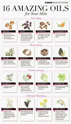 16 Amazing Oils [Infographic]  #paleo #diet #inspiration #health #lifestyle http://paleoaholic.com/bootcamp