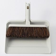 Dust pan & brush by Muji