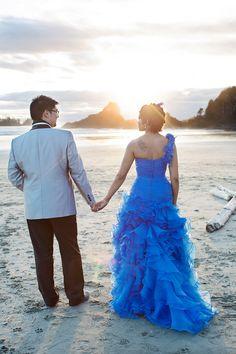 That blue dress OMG