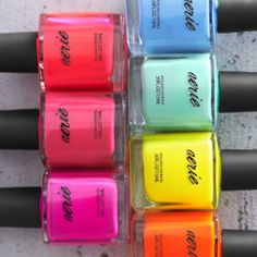 Mani Monday - Summer Neon Nail Trends
