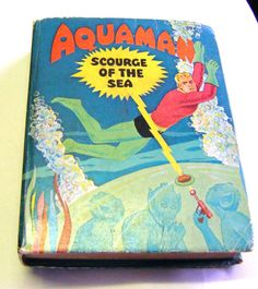 1968 Aquaman Scourge Of The Sea By Paul S Newman by parkledge, $45.00