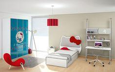 Dormitorio Hello Kitty City - Bedroom Hello Kitty City