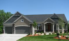 Warm and inviting 4 bedroom home with open floor plan.  House Plan # 271502.