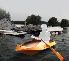 ideal for campers or commuters who look for quick and easy access boat.    Designers : Prof. Ying Fangtian, Wu Jiang, Wei Chengyuan, Mao Yuxi, Wang Qi, Zhang Ning, Cheng Kuan, Zhao Yijun, Cai Jianxing