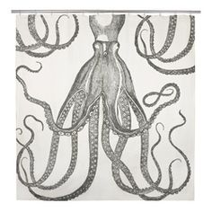 Octopus shower curtain. I love this!,  Go To www.likegossip.com to get more Gossip News!