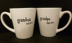 grandparent announcement, decid, announce pregnancy to parents, gift ideas, new grandparent gifts, holiday gifts, gifts for new parents, christmas ideas, mugs