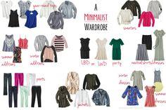 Minimalist wardrobe...from all the basics to an expansıve wardrobe
