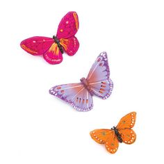 Add a pop of color in your #hair with butterfly clips #KatyPerryPRISMCollection prism collect, crazi hair, perri prism, hair clips, butterfli clip, kati perri, fluttershi outfit