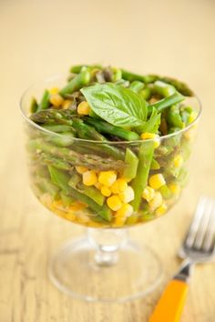 Paula Deen Corn and Asparagus Salad