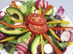 Fresh salad for a hot summer!