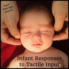 Infants Responses to Tactile Input