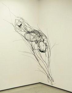 Wire Sculptures by David Oliveira