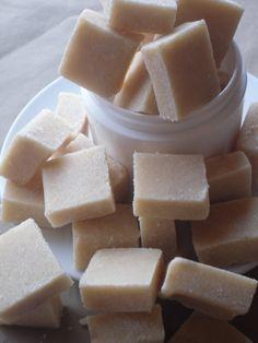 Orange Soap Sugar Scrub Cubes by KoWicked on Etsy