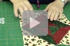 Lots of Missouri Star Quilts Tutorials - including tube-quilting tutorial.