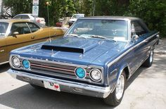 '67 Plymouth Belvedere  I love this car!