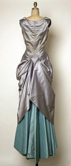 Charles James, Ball gown - back - 1950-1952 - Silk - The Metropolitan Museum of Art