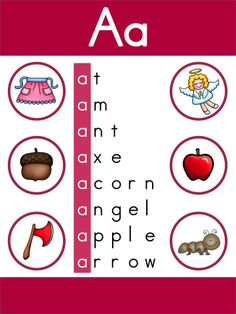 Letter A Sound Poster >> Part of the Alphabet Adventures Program >> Download Letter A Packet for FREE!