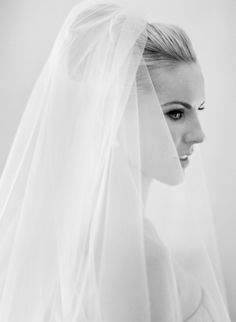 stunning bride and v