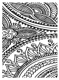 Henna pattern coffee table