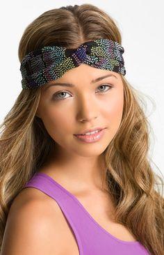 DIY Headwrap Headbands - leopard print one would be cute