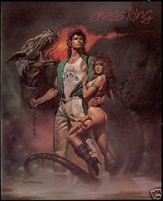 Oh yes. Chess King Fashion Dragon Sexy Warrior Boris (1986).