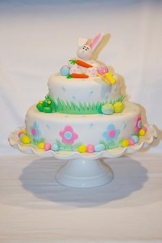 Happy Easter Cake - Bunny Cake